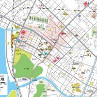 空想地図から実在都市を考える