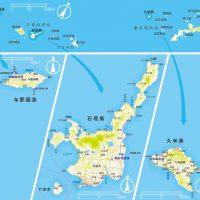 強調したいところを引き立たせる地図デザイン(THEフィッシング)